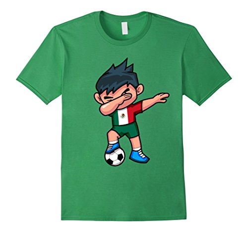 Boy T Shirt | Mexico Mexican Football Boys 2XL Grass (Mexico Soccer Jersey)