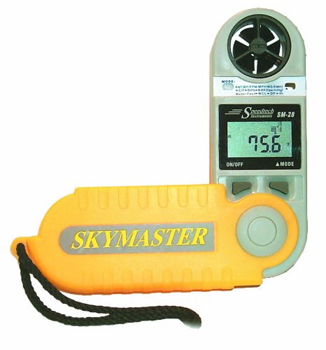 WeatherHawk SM-28 SkyMaster Hand-Held Weather Meter, Yellow by SkyMaster
