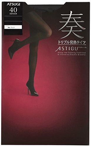 プラットフォーム癌浮浪者(アツギ) ATSUGI タイツ ASTIGU(アスティーグ) 【奏】トリプル発熱タイツ 40デニール