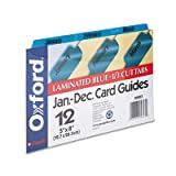 ESS05813 - Oxford Laminated Tab Index Card Guides
