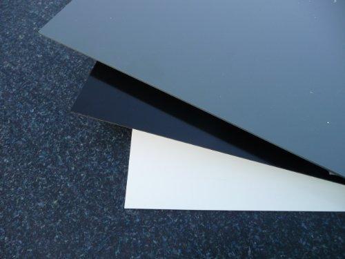 Plaque coupé PVC rigide 1000 x 495 x 3 mm blanc alt-intech PVC Plaque