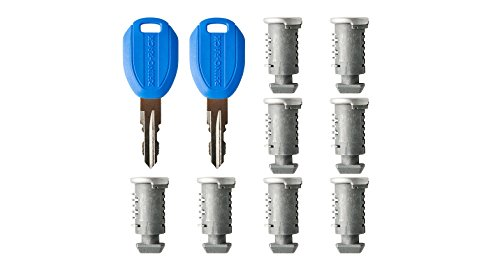 Rhino Rack RK012-8 Barrels/2 Master Keys