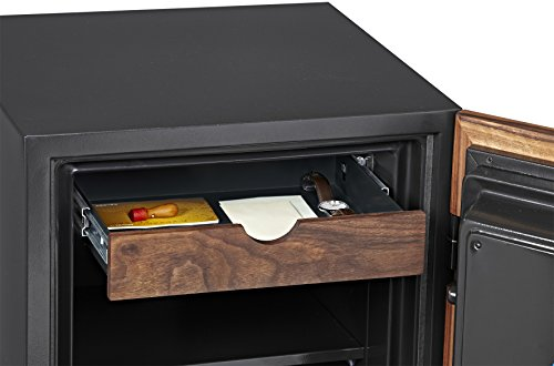 Phoenix DBAUM Fingerprint Lock Luxury Fireproof Safe with Walnut Door 2.28 cu ft by Phoenix Safe International (Image #3)