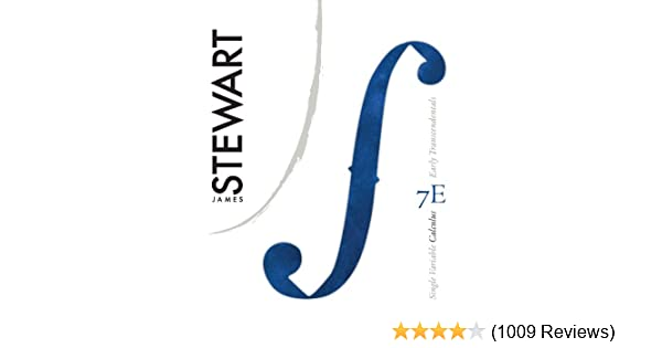 Single variable calculus early transcendentals 007 james stewart single variable calculus early transcendentals 007 james stewart amazon fandeluxe Images