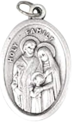 Patron Saint of Children Jewelry Nicholas Catholic Holy Medal Locket Necklace Confirmation Baptism Gift St Catholic Gift