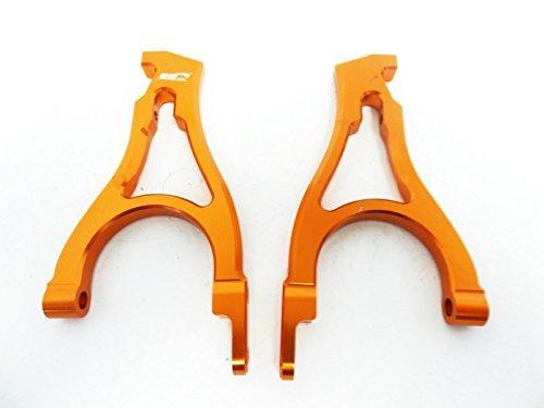 - King Motor CNC Orange EX Aluminum Rear Shock Towers (set of 2) Fits HPI Baja 5B 2.0 SS Rovan
