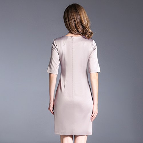 Half Women`s Scoop Sleeve Short Slim Neck Ball Dresses Formal Fit cotyledon Gowns aWAHfTccS