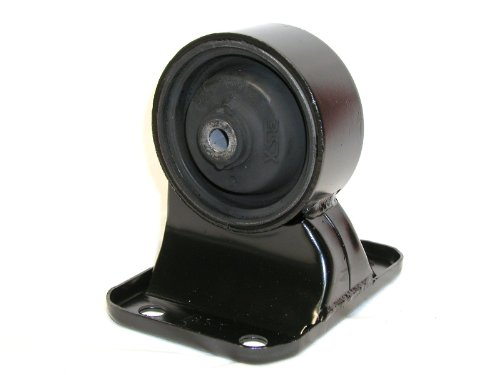 3SX Engine Motor Mount Rubber Core OEM-Replacement 3000GT - LOWER REAR (Rectangle w 4 Bolt Holes)