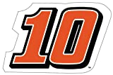 #10 NASCAR 2 Pack Jumbo Number Magnet-Danica Patrick 2 Pack Jumbo Number Magnet-NEW FOR 2014