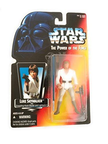 (Kenner Star Wars - Power of The Force (1995) Luke Skywalker Red Card Long Saber Action Figure)