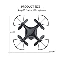 IDABAY 30W WiFi Mini Fashionable 4-Axis Helicopter Drone with Wifi Camera Live Video and GPS Return Home Quadcopter with Adjustable Wide-Angle 720P HD WIFI Camera- Follow Me, Altitude Hold, Intelligen from IDABAY