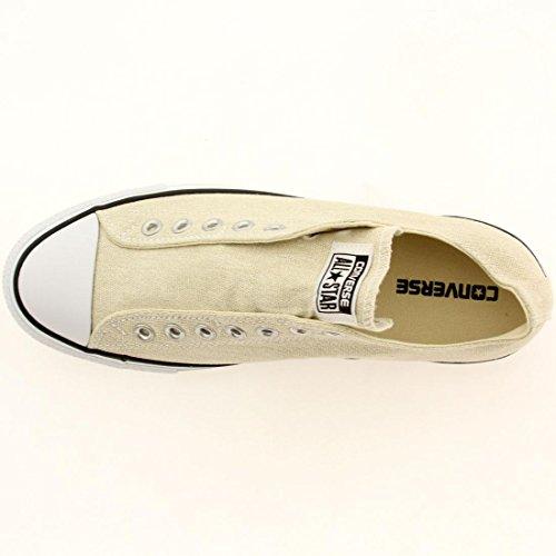 Asics Hombre Chuck Taylor Core Lea Ox zapatillas para correr gray / seashell / white