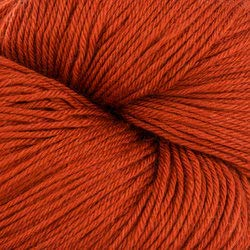 Valley Yarns Charlemont Fingering Weight Sock Yarn, Superwash Merino Wool/Silk/Polyamide - Sunset