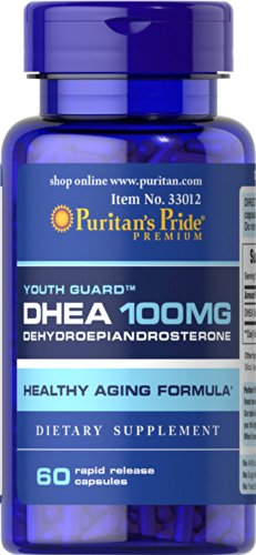 Fierté DHEA 100 mg-60 Capsules de