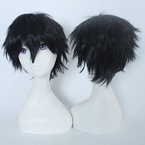 Anime-Cosplay-Synthetic-Full-Wig-with-Bangs-20-Styles-Short-Layered-Fluffy-Hair-Oblique-Fringe-Full-Head-Unisex-Stretchable-Elastic-Wig-Net-for-Man-and-Women-Girls-Lady-Fashion