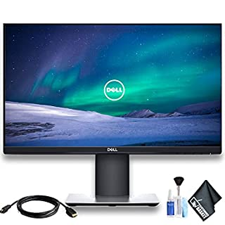 "Dell P2419H 23.8"" 16:9 Ultrathin Bezel IPS Monitor with HDMI Cable"