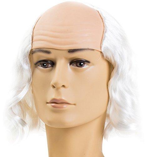 Mad Professor Wig Halloween Crazy Scientist Inventor Doc Brown Einstein Wig by (Mad Scientist Halloween Game)