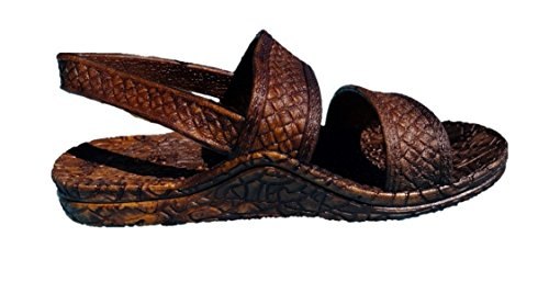 J-Slips Hawaiian Jesus Sandals in 4 Cool Colors & 20 US Sizes! Toddler's, Kid's, Women's, Big Men's (Color: Kona, Size: (03) Toddler 6/7 with Back Strap) -