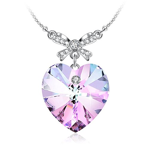 Beautiful Swarovski Crystal Heart Pendant