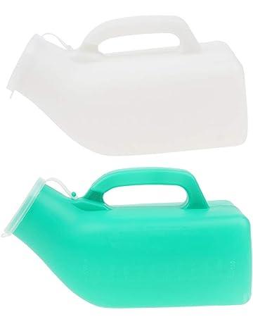 B Baosity 2 Pcs Bottles de Orina para Hombre Hecho de Plástico para Automoviles Hogar,