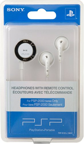 PSP Headphones with Remote Control