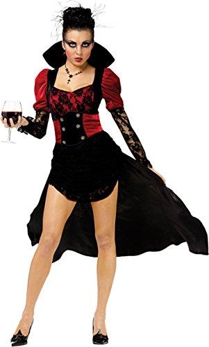 Short Black Dress Halloween Costume Ideas (Morris Costumes Vampiressa Adult Medium 8-10)