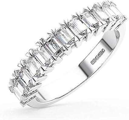anello baguette diamanti