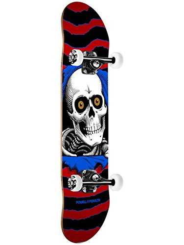 r One Off Red/White Complete Skateboard, Green ()