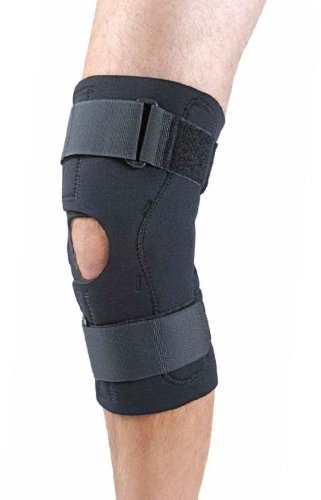 Neoprene Hinged Knee Support Anterior Closure - X-Large by Knee