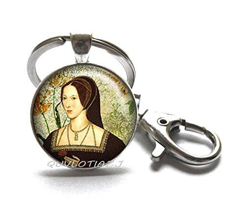Tudor Rose Keychain Tudor Keychain Tudor jewelry Tudor Keychain Queen of England,Best friend Keychain,Simple Keychain,Everyday Keychain,Gorgeous Keychain,ot77 (A1)