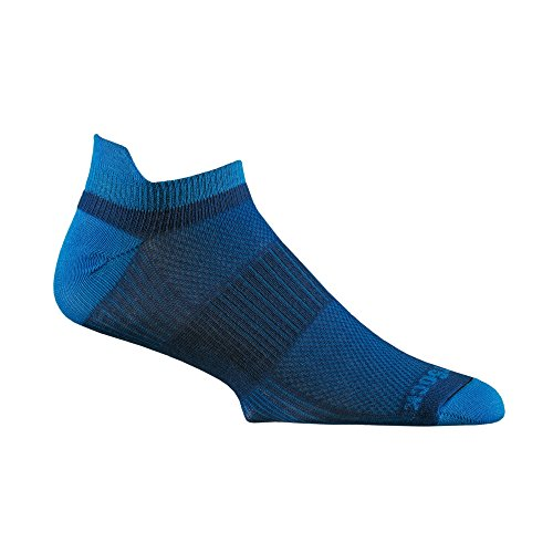 - Wrightsock CoolMesh II Tab Socks - Royal/Blue Large