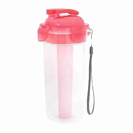 ttcity Manejable poliéster correa de mano de plástico de botellas de agua tipos de color rosa