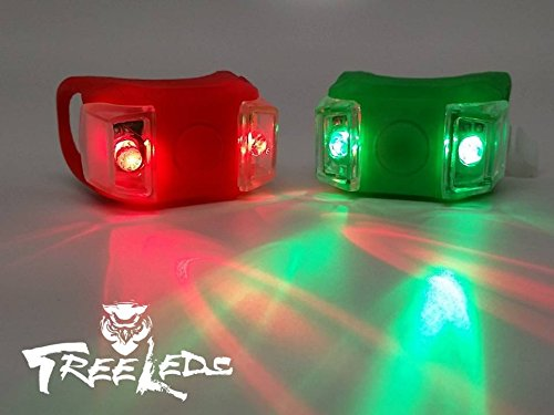 Green /& Red Portable Marine LED Boat Lighting Sea Sun Boat Bow or Stern Safety Lights