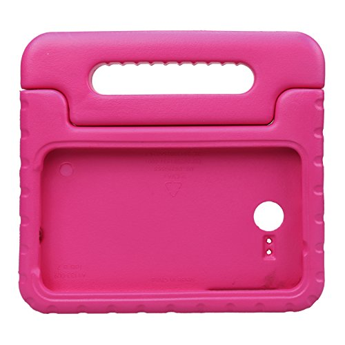 NEWSTYLE Tab A 7.0 Kids Case - Shockproof Light Weight Protection Handle Stand Kids Case for 2016 Samsung Galaxy TAB A 7.0 inch Tablet (Not Fit any Other 7.0 Tablet Model) (Rose)