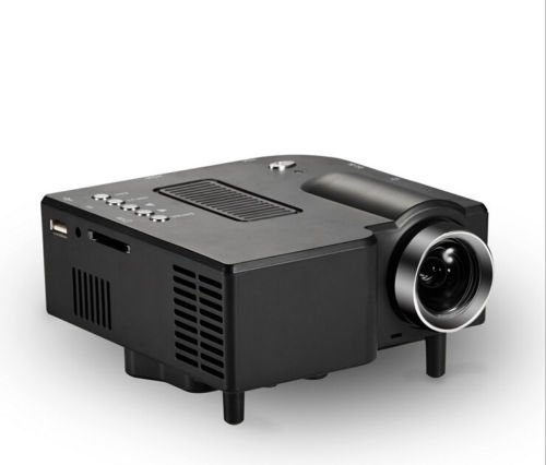 Mini 1080p Hd Multimedia Projector Home Cinema The...