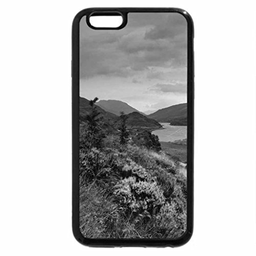 iPhone 6S Case, iPhone 6 Case (Black & White) - glorious color on a river in the scottish highland