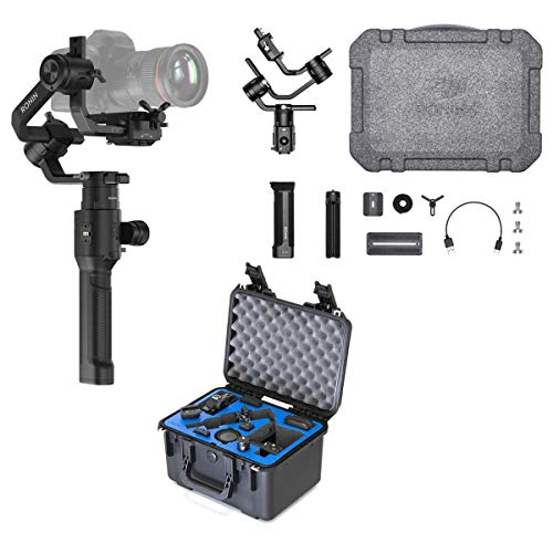 DJI Ronin-S 3-Axis Handheld Gimbal Stabilization - Essentials Kit - with Go Professional Cases Hard Case