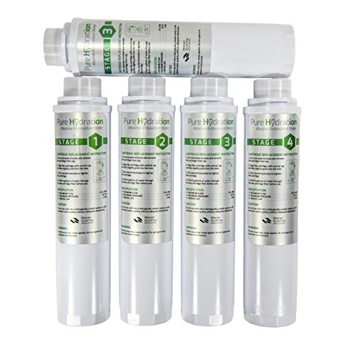 (Pure Hydration Next Generation Replacement Cartridges (Will not fit The Silver Model))