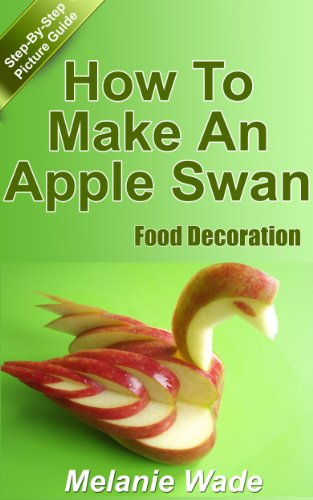amazon com food decoration how to make an apple swan party food