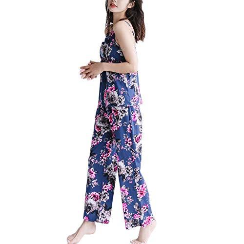 Da Felpa Tre A PYJ Da Loungewear Notte Biancheria Cotone Set Maniche Pigiama Notte Cotone Pantalone Camicetta Morbido Da Notte Da Di In Lunghe Kimono B Pezzi In In Notte A vE1fEqTwx