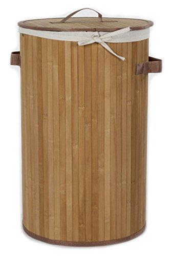 'casamia' 5385N94 Cesto de Ropa, Bambú, Natural