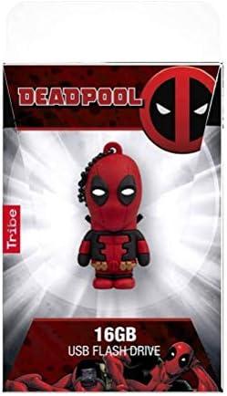 Red FD016508 Tribe Deadpool USB Flash Drive,16GB