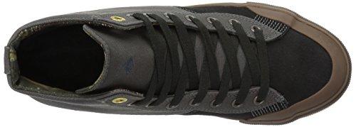 Men's Grey Emerica Dark Black Gum Indicator Shoe High Skate vUdSwU
