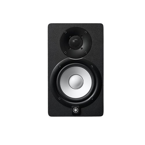 Yamaha HS5 5 in. Studio Monitor Pair with XLR, TRS to XLR, and 1/8 in. to XLR Cables Bundle by Yamaha