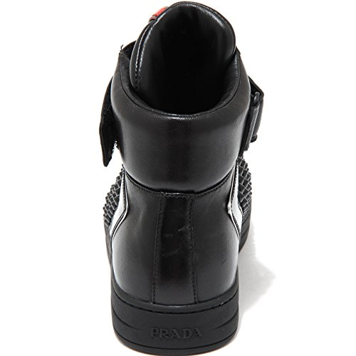 Prada 3086g Shoes Women Scarpa Nera Donna Nappa Sport Nero Sneaker FwxwTZpt