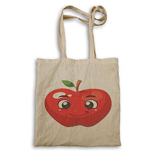 Tote Bag Rosso Mela U632r