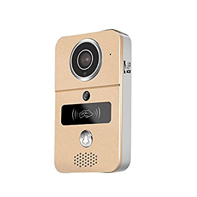 WiFi Video Doorbell, AnyGo KW02 HD Enabled Video Doorbellwith RFID Keyfobs Dingdong bell Support iOS and Android