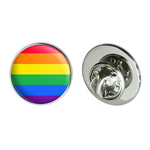 GRAPHICS & MORE Rainbow Pride Gay Lesbian Contemporary Metal 0.75