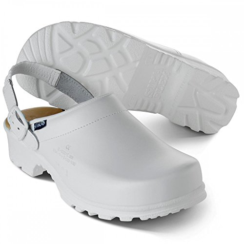 Sika Footwear Elbe Sicherheits-Clogs En ISO 20347 Weiß