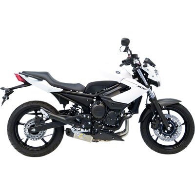 (09-17 Yamaha FZ6R: Leo Vince SBK Evo II Underbody Full System - Stainless Steel )